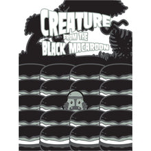 Load image into Gallery viewer, Movie The Food - Creature From The Black Macaroon - Design Detail