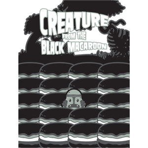 Movie The Food - Creature From The Black Macaroon - Design Detail