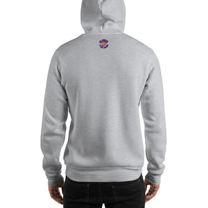 Movie The Food - Crazy Rich Raisins Hoodie - Heather Grey - Model Back