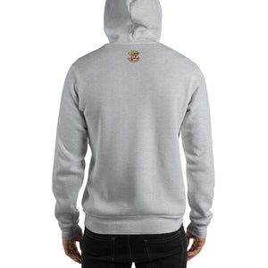 Movie The Food - Dawn Of The Bread Hoodie - Heather Grey - Model Back