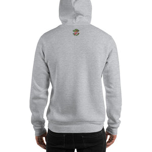 Movie The Food -Kill Dill Hoodie - Heather Grey - Model Back