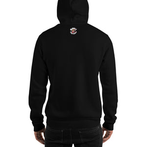 Movie The Food - Logo Hoodie - Black - Model Back
