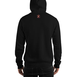 Movie The Food -Mango Unchained Hoodie - Black - Model Back