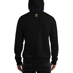Movie The Food - Prawn Of The Dead Hoodie - Black - Model Back