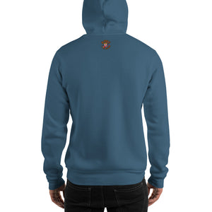 Movie The Food - Rosemary's Gravy Hoodie - Indigo Blue - Model Back