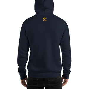 Movie The Food - Scone Alone 2 Hoodie - Navy - Model Back