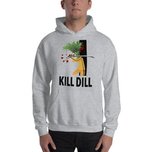 Load image into Gallery viewer, Movie The Food -Kill Dill Hoodie - Heather Grey - Model Front