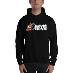Movie The Food - Logo Hoodie - Black - Model Front
