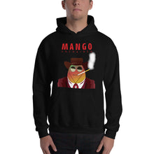 Load image into Gallery viewer, Movie The Food -Mango Unchained Hoodie - Black - Model Front