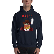 Load image into Gallery viewer, Movie The Food -Mango Unchained Hoodie - Navy - Model Front