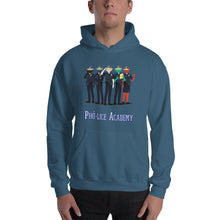 Load image into Gallery viewer, Movie The Food - Pho-lice Academy Hoodie - Indigo Blue - Model Front