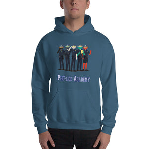 Movie The Food - Pho-lice Academy Hoodie - Indigo Blue - Model Front