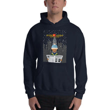 Load image into Gallery viewer, Movie The Food - Scone Alone 2 Hoodie - Navy - Model Front