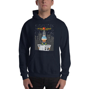 Movie The Food - Scone Alone 2 Hoodie - Navy - Model Front