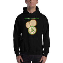 Load image into Gallery viewer, Movie The Food - The Baba Ghanoush Hoodie - Black - Model Front