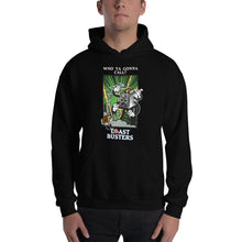 Load image into Gallery viewer, Movie The Food - Toastbusters Hoodie - Black - Model Front