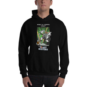 Movie The Food - Toastbusters Hoodie - Black - Model Front