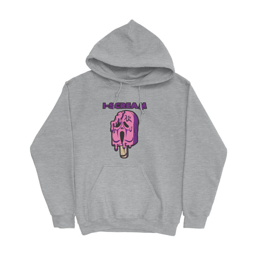 Movie The Food - I-Scream Hoodie - Heather Grey