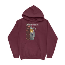 Load image into Gallery viewer, Movie The Food -Inspector Baguette Hoodie - Maroon