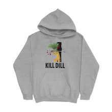 Load image into Gallery viewer, Movie The Food -Kill Dill Hoodie - Heather Grey