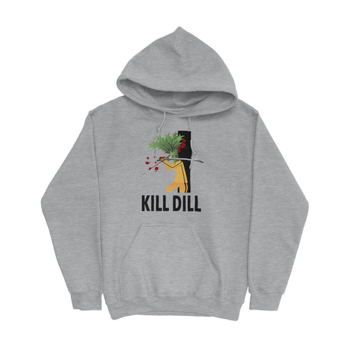 Movie The Food -Kill Dill Hoodie - Heather Grey