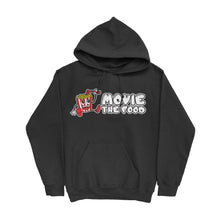 Load image into Gallery viewer, Movie The Food - Logo Hoodie - Black