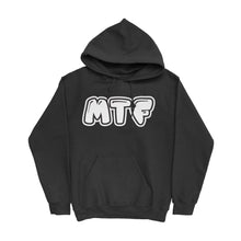 Load image into Gallery viewer, Movie The Food - MTF Logo Hoodie - Black
