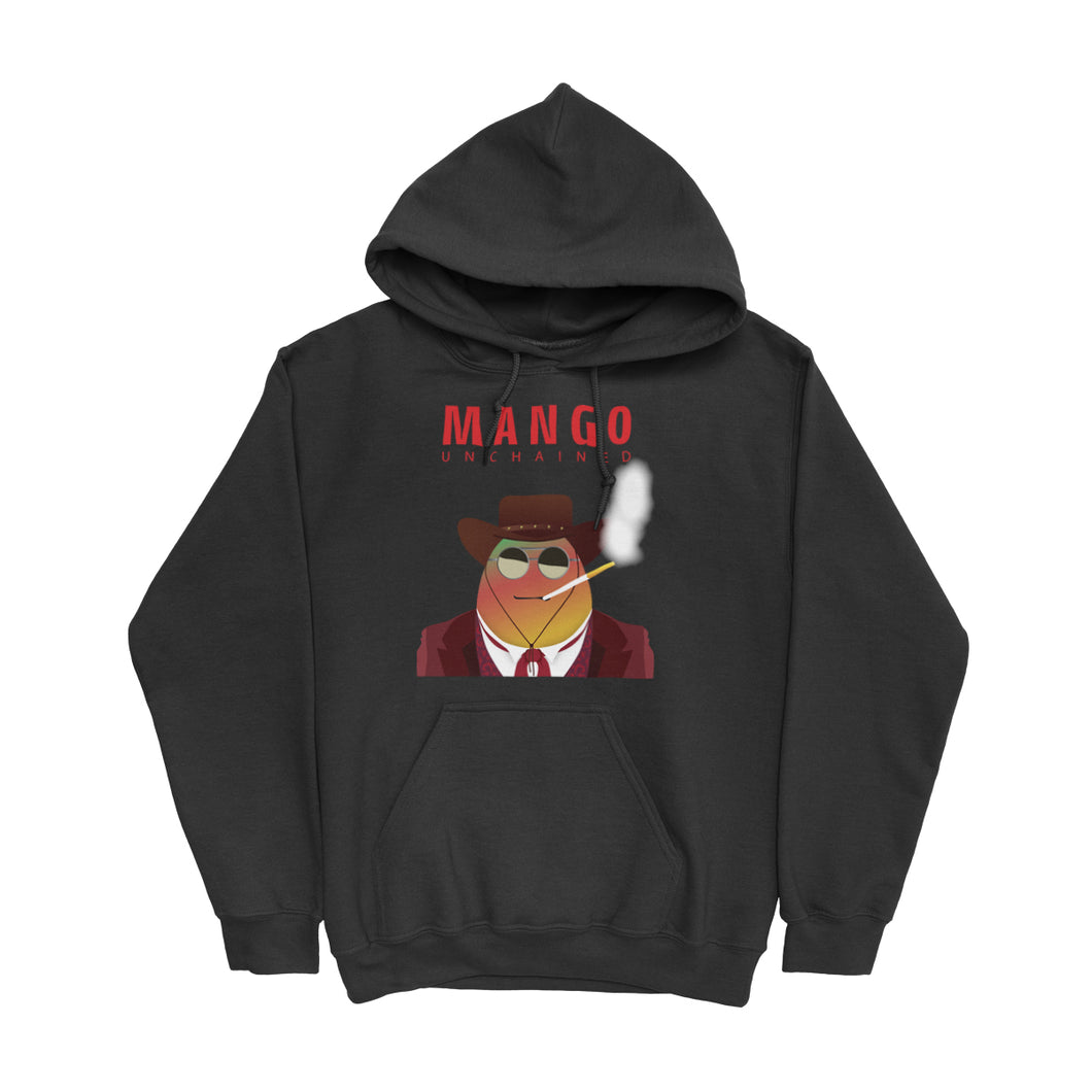 Movie The Food -Mango Unchained Hoodie - Black