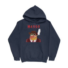 Load image into Gallery viewer, Movie The Food -Mango Unchained Hoodie - Navy