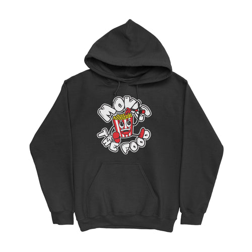 Movie The Food - Round Logo Hoodie - Black