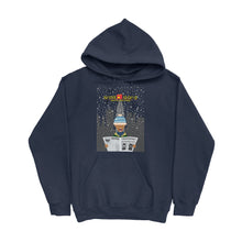 Load image into Gallery viewer, Movie The Food - Scone Alone 2 Hoodie - Navy