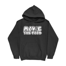 Load image into Gallery viewer, Movie The Food - Text Logo Hoodie - Black