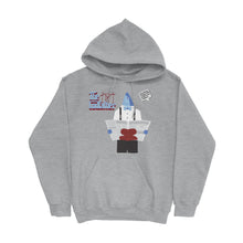 Load image into Gallery viewer, Movie The Food - The Codfather Hoodie - Heather Grey