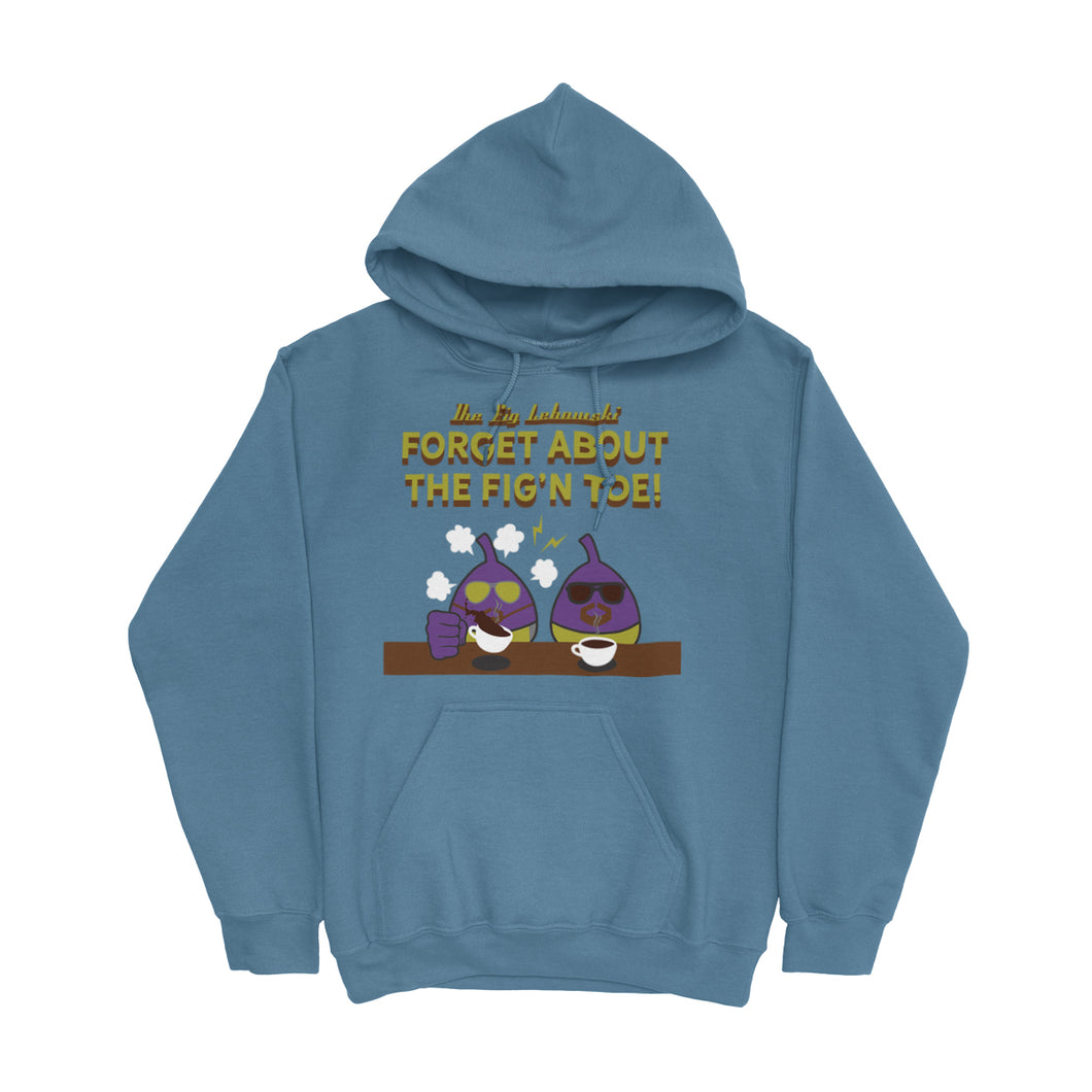 Movie The Food - The Fig Lebowski Hoodie - Indigo Blue