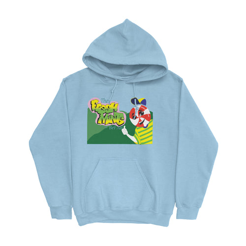 Movie The Food -The Fresh Mints Of Bel-Air Hoodie - Light Blue