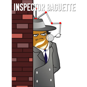 Movie The Food - Inspector Baguette - Design Detail