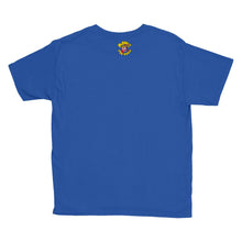 Load image into Gallery viewer, Movie The Food - Scone Alone 2 Kid's T-Shirt - Royal Blue - Back