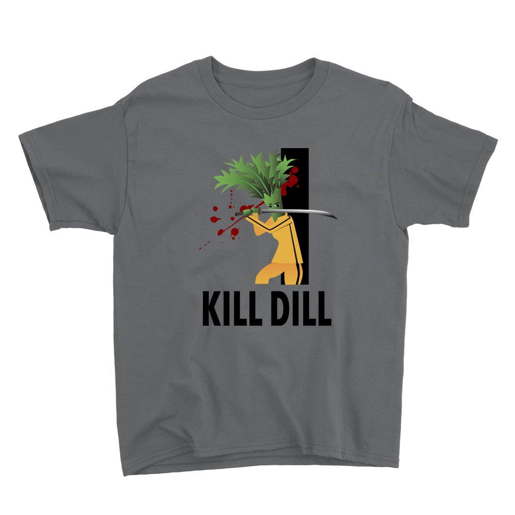 Movie The Food - Kill Dill Kid's T-Shirt - Charcoal