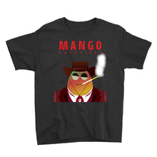 Load image into Gallery viewer, Movie The Food - Mango Unchained Kid's T-Shirt - Black