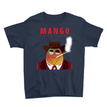 Load image into Gallery viewer, Movie The Food - Mango Unchained Kid's T-Shirt - Navy