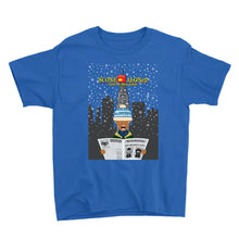 Load image into Gallery viewer, Movie The Food - Scone Alone 2 Kid's T-Shirt - Royal Blue