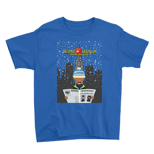 Movie The Food - Scone Alone 2 Kid's T-Shirt - Royal Blue