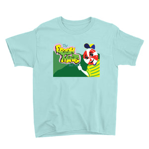 Movie The Food - The Fresh Mints Of Bel-Air Kid's T-Shirt - Teal Ice