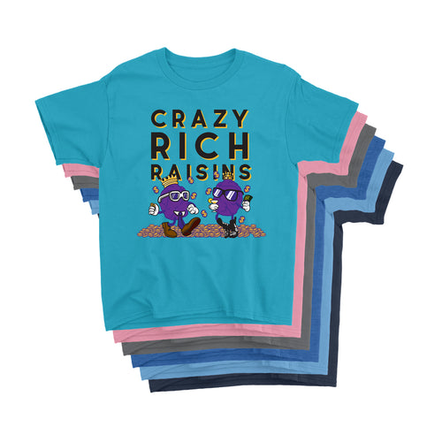 Movie The Food - Crazy Rich Raisins Kid's T-Shirt