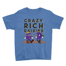Load image into Gallery viewer, Movie The Food - Crazy Rich Raisins Kid's T-Shirt - Heather Royal