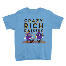 Load image into Gallery viewer, Movie The Food - Crazy Rich Raisins Kid's T-Shirt - Light Blue