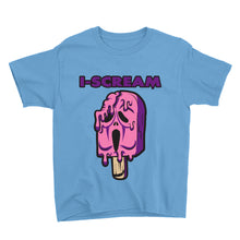 Load image into Gallery viewer, Movie The Food - I-Scream Kid's T-Shirt - Light Blue