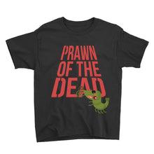 Load image into Gallery viewer, Movie The Food - Prawn Of The Dead Kid's T-Shirt - Black