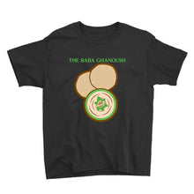 Load image into Gallery viewer, Movie The Food - The Baba Ghanoush Kid's T-Shirt - Black