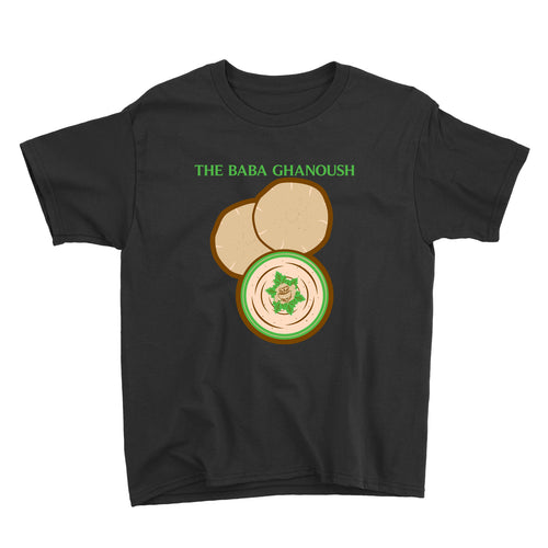 Movie The Food - The Baba Ghanoush Kid's T-Shirt - Black